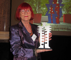 Ute Wittich bei der Verleihung des Garten-Oskars 2016